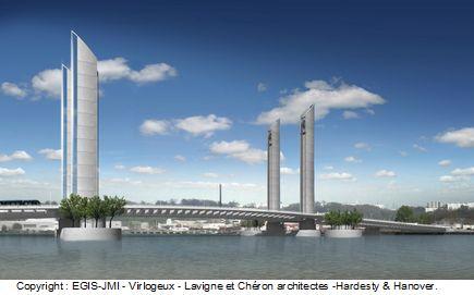 Vinci construction va r aliser le pont levant de bordeaux construction cayola - Le pont levant de bordeaux ...