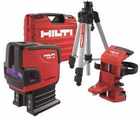 hilti lance son nouveau laser combin pmc 46 kit. Black Bedroom Furniture Sets. Home Design Ideas