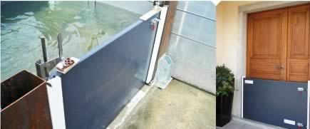 feugier environnement lance une barri re anti inondation pour particulier construction cayola. Black Bedroom Furniture Sets. Home Design Ideas