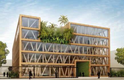 A courbevoie l architecture bio climatique de demain - L architecture de demain ...