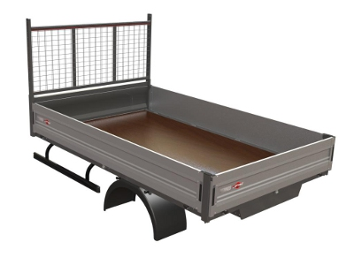 bennes jpm fait le pari de l aluminium construction cayola. Black Bedroom Furniture Sets. Home Design Ideas