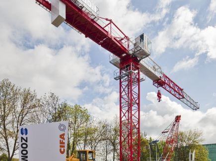 Bauma : nouvelle grue Topless Zoomlion