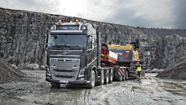 Volvo trucks expose ses euro 6 au salon hillhead for Salon du tp
