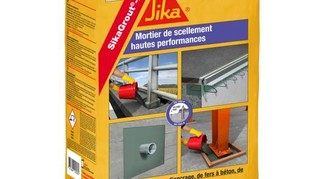 sika lance le premier mortier de scellement faible. Black Bedroom Furniture Sets. Home Design Ideas