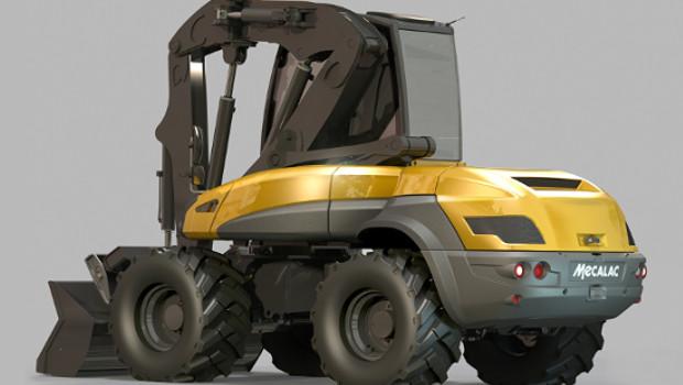 La mecalac 12 mtx prim e pour son design construction cayola for Prix construction neuf