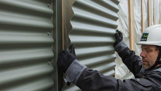 Un bardage zinc modulaire dans les Ardennes - Construction Cayola