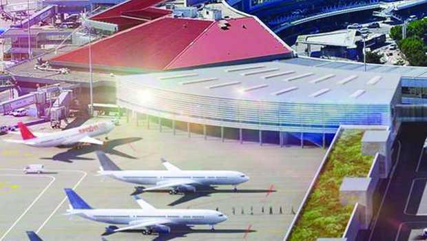 Aéroport Toulouse-Blagnac : une nouvelle extension en chantier fin ... - Construction Cayola