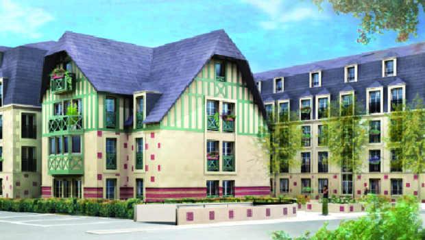 Deauville : inauguration de logements sociaux - Construction Cayola