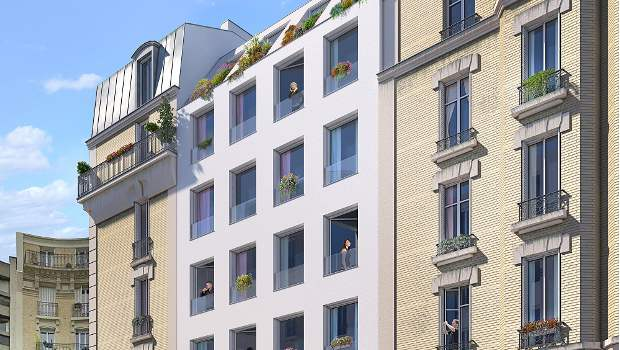 A Paris, Ogic construit une résidence de 18 appartements - Construction Cayola
