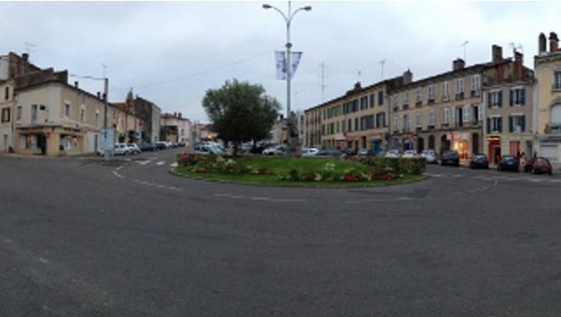 Le centre ville de mont de marsan en chantier for Piscine de mont de marsan