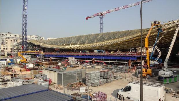 Les Halles De Paris Sur La Bonne Voie Construction Cayola