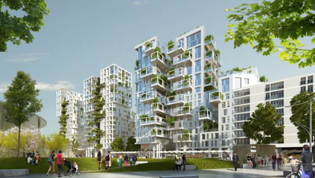 Grand paris un projet immobilier annexe la gare de for Projet de construction appartement