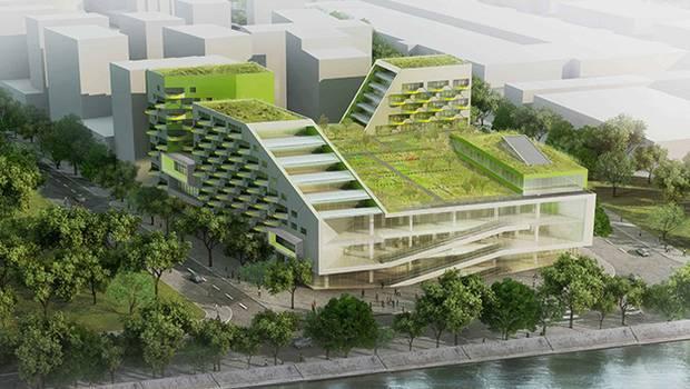 Vinci le projet des docks de saint ouen est bien parti for Projet architecture pdf