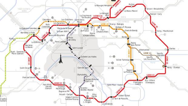 Grand paris arcadis sur la ligne 15 est du m tro construction cayola - Les encombrants paris 15 ...