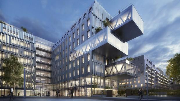 paris 14 550 m de bureaux bercy construction cayola. Black Bedroom Furniture Sets. Home Design Ideas