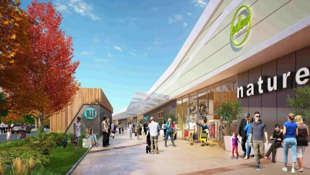Eden le centre commercial ciel ouvert en seine et - Centre commercial les armoiries villiers sur marne ...