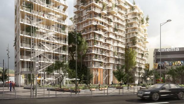 Construction Bois Bordeaux : Une tour en bois de 50 m ? Bordeaux – Construction Cayola