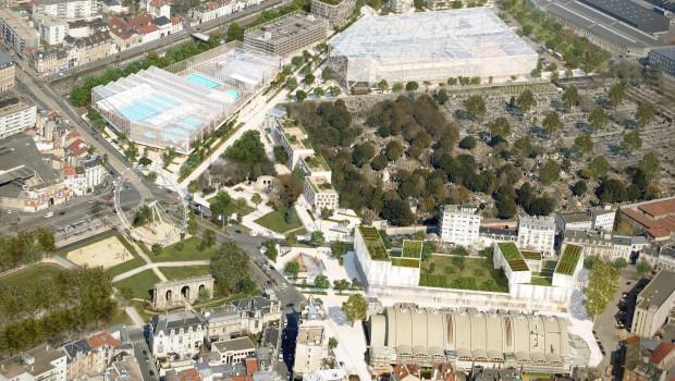 Reims grand centre le nouveau visage du coeur de reims - Piscine olympique reims ...