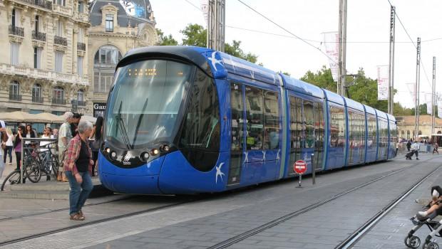 Tramway de montpellier la ligne 5 est toujours d - La compagnie des comptoirs montpellier ...