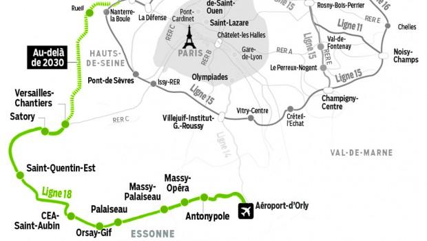 Grand Paris Express : le design du métro de la ligne 18 en ...