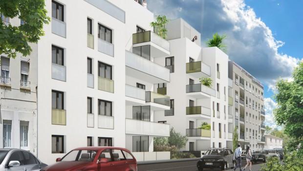 Lyon 59 logements dans la zac du bon lait construction cayola - Le bon coin logement lyon ...