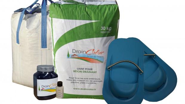 draincolor un kit de b ton drainant cl en main construction cayola. Black Bedroom Furniture Sets. Home Design Ideas