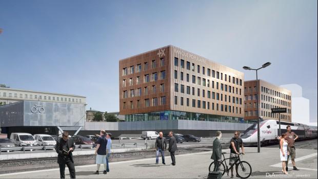 La banque populaire s 39 installe mulhouse construction - Abonnement piscine mulhouse ...