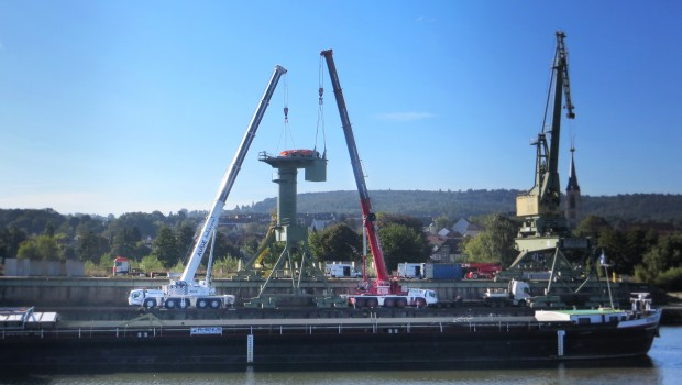 port de bamberg manitowoc hisse haut construction cayola