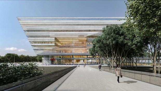 Chine : une nouvelle bibliothèque pour Shanghai