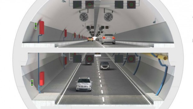 The Eurasia tunnel under the Bosphorus opens to the public