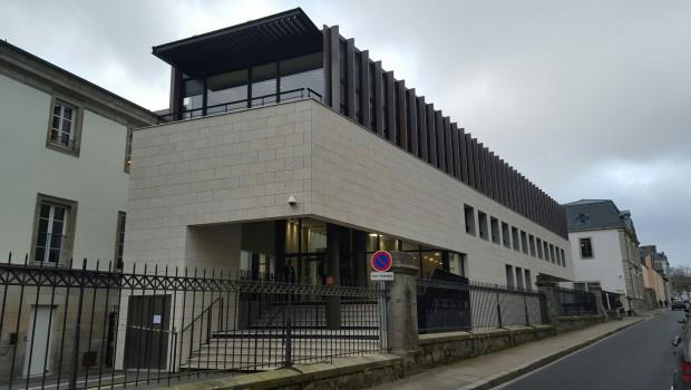 Le nouveau palais de justice de quimper a t livr for Livres architecture batiment construction