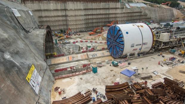 Hong kong le tunnel de liantang en bonne voie for Construction de tunnel