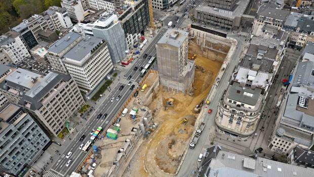 luxembourg un projet en coeur de ville de 36 000 m construction cayola. Black Bedroom Furniture Sets. Home Design Ideas