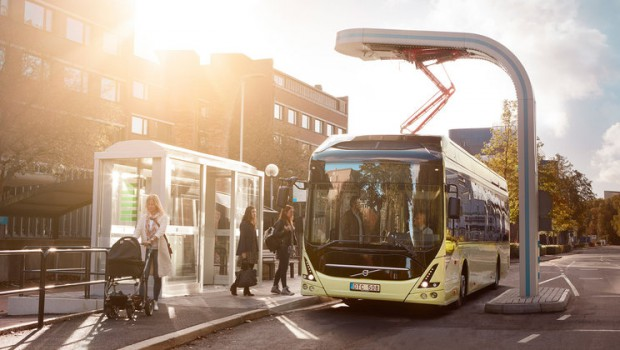 Volvo on the right track to lead electromobility market