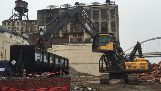 Volvo ensures safest and highest quality work in demolition