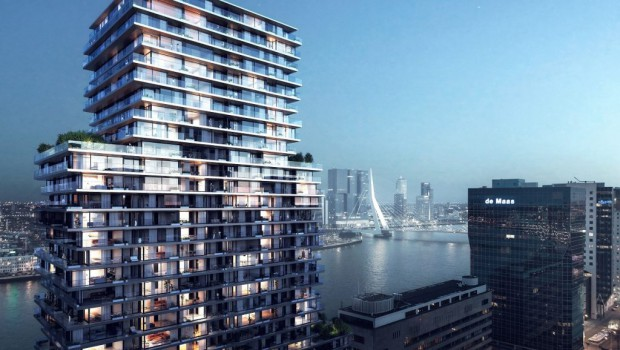 Demolition required for €100M tower construction in the Netherlands