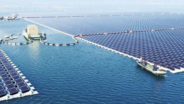 The world's largest floating solar PV plant is in China
