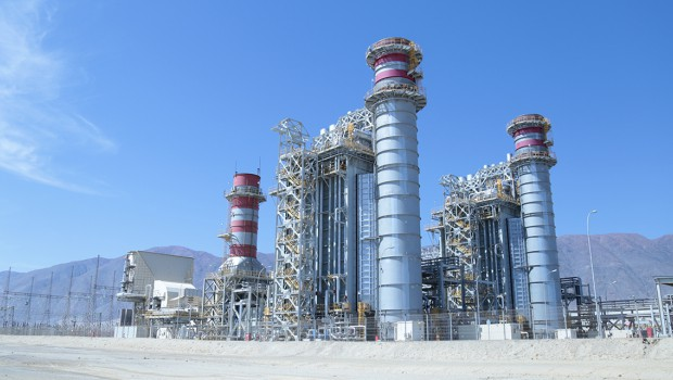 Construction of gas-fired combined-cycle power plant achieved in Chile