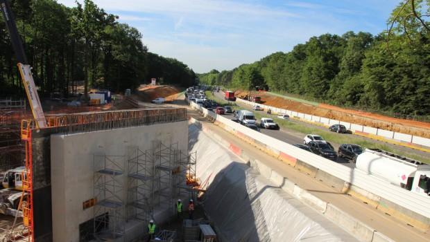 Aménagement du demi-échangeur de l'A86 à Chatenay-Malabry - Construction Cayola