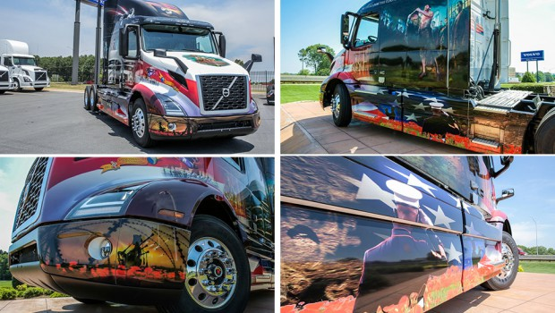 Volvo honors US Military with its 2017 Ride for Freedom