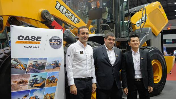 Case CE unveils new precision technologies and telematics at Intermat ASEAN
