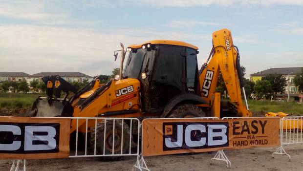JCB unveils three new machines at Intermat ASEAN