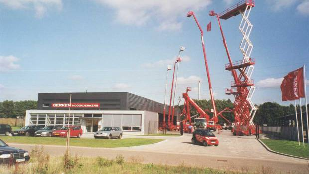 Gerken hosts thirty Snorkel electric boom lifts in Germany