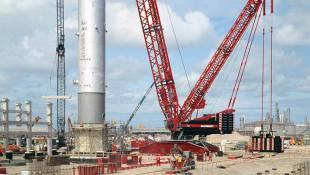 Liebherr, Strongest lattice boom crane in Switzerland