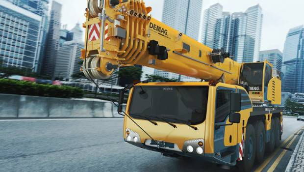 Terex: new order of five Demag cranes