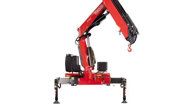 Fassi, new cranes in the medium duty lifting range