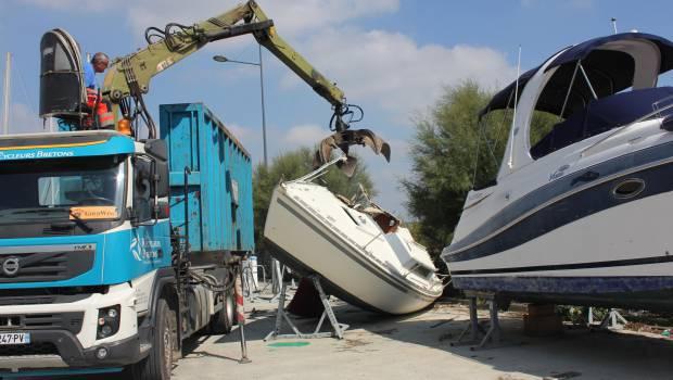 Le démantèlement des bateaux prend un nouveau virage en région Paca