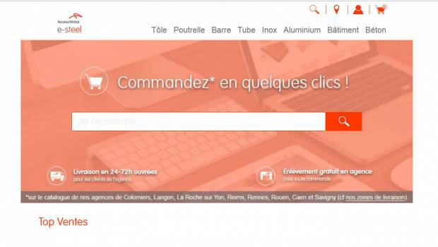 ArcelorMittal se lance dans le commerce en ligne