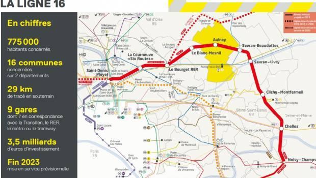 f8d35fda85ac7 Eiffage en poste pour la ligne 16 du Grand Paris Express ...