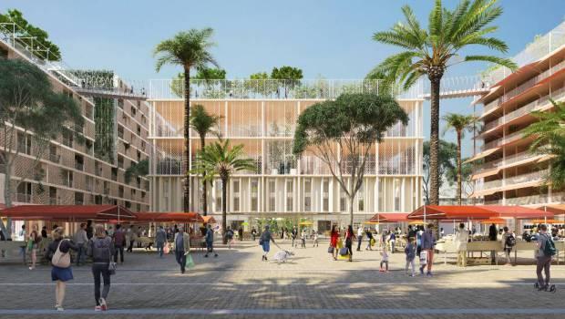 Une « Oasis » à Nice - Place Meridia dans Joia Méridia © Lambert Lénack
